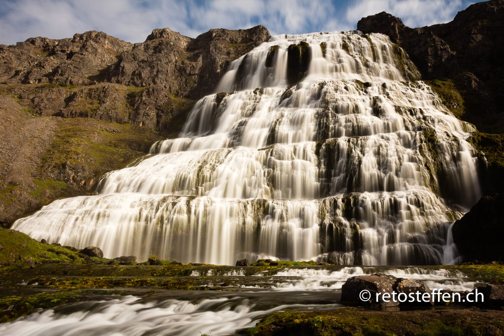 Some of the best waterfalls are in Iceland
