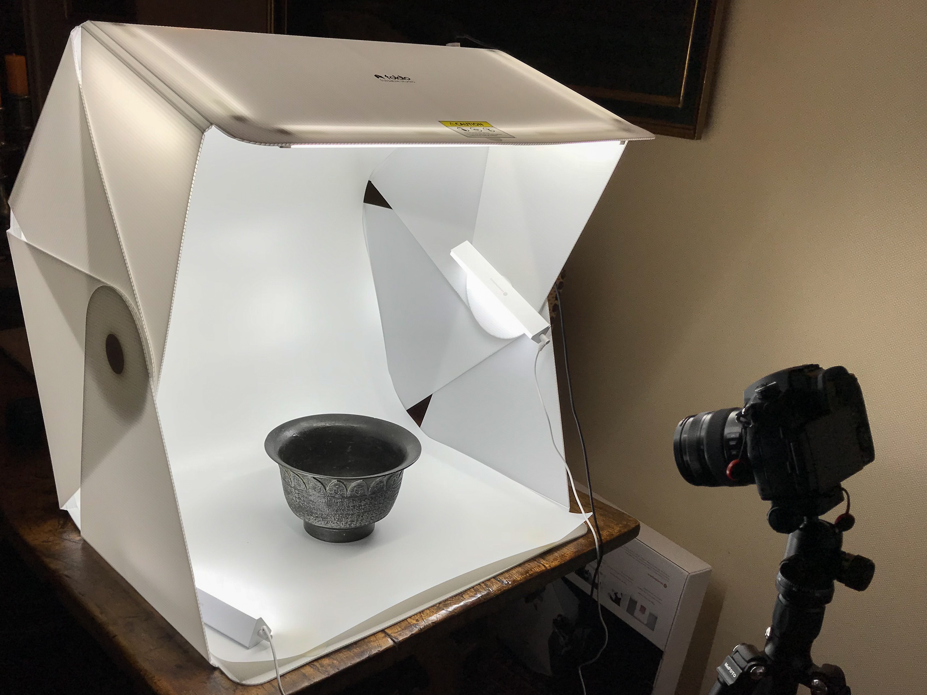 easy product photography with the foldio 3 from orangemonkie - Set up